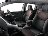 Toyota Auris JP-spec 2009–12 images
