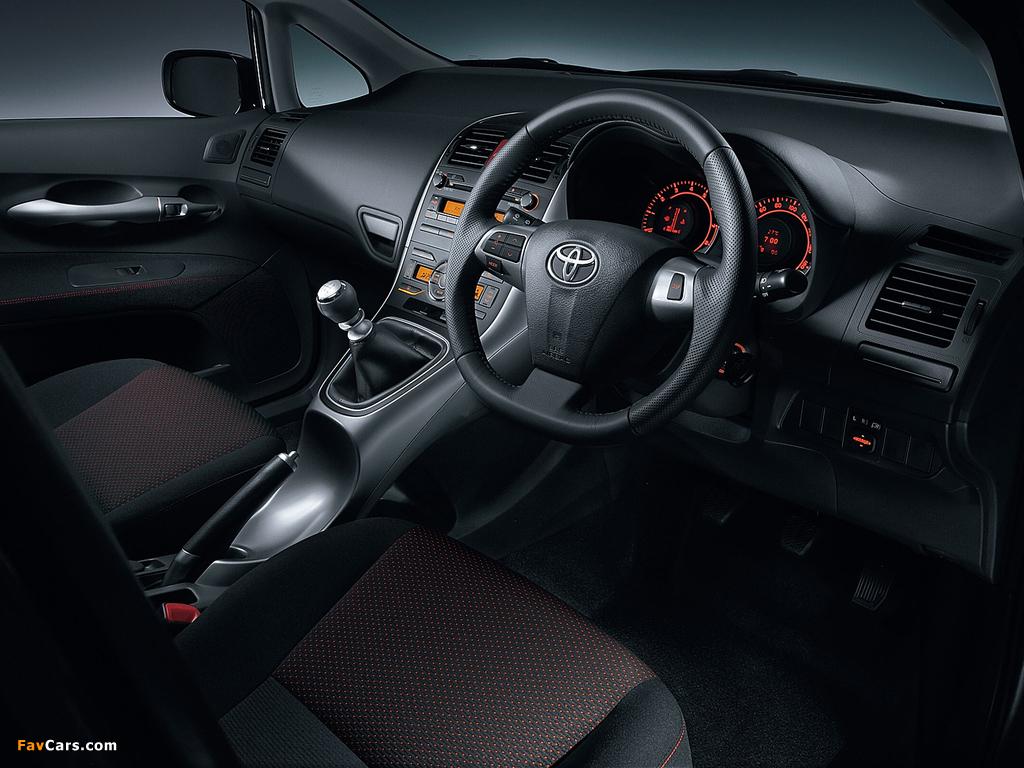 Toyota Auris JP-spec 2009–12 images (1024 x 768)