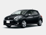 Toyota Auris JP-spec 2009–12 photos