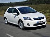 Toyota Auris HSD UK-spec 2010–12 images