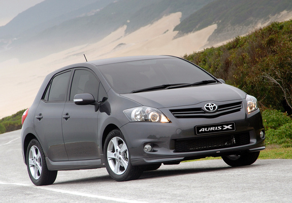 toyota auris sport x za spec 2010 images. Black Bedroom Furniture Sets. Home Design Ideas