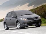 Toyota Auris Sport X ZA-spec 2010 images