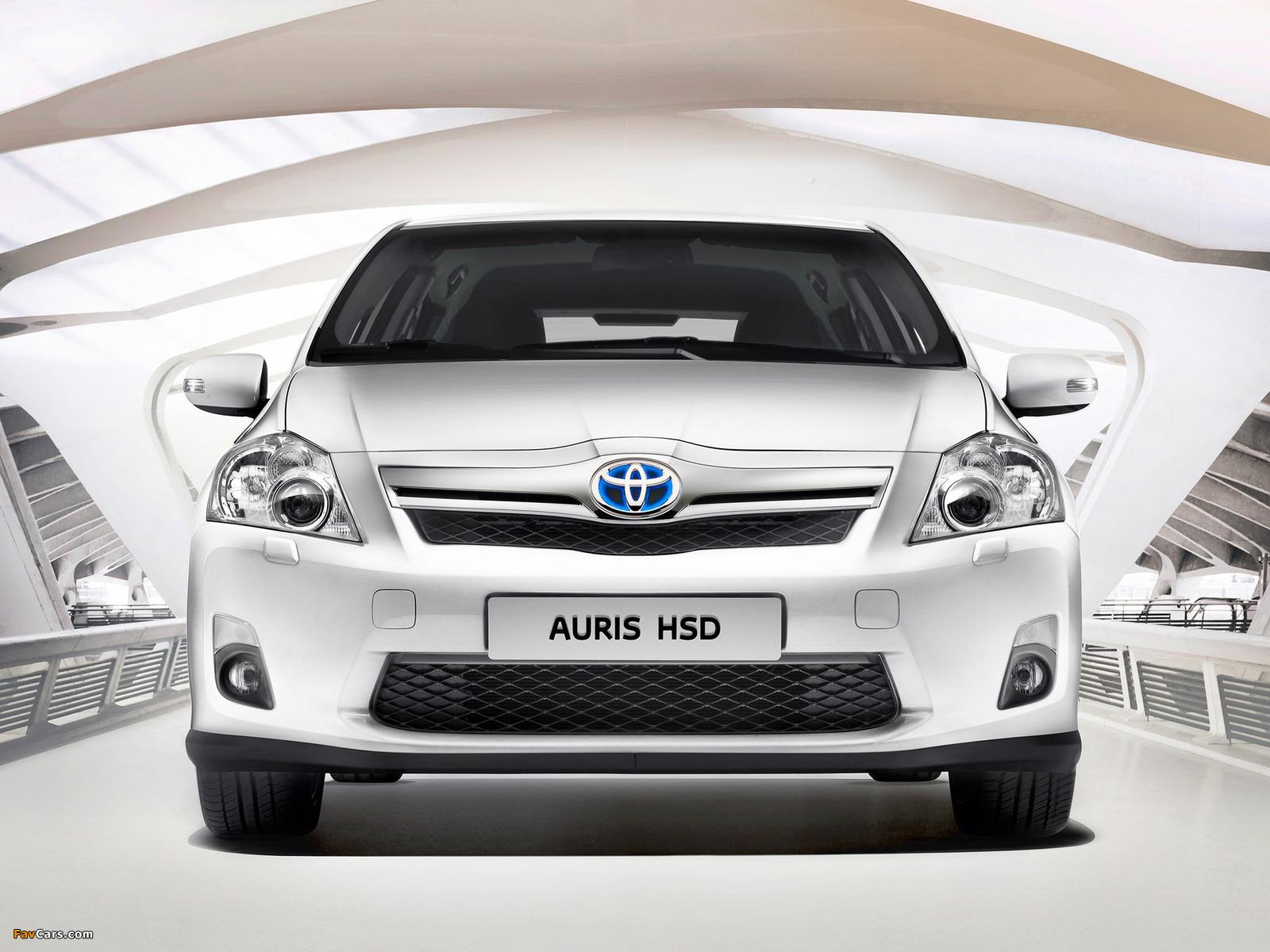 Toyota Auris HSD 2010–12 photos (1600 x 1200)