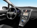 Toyota Auris HSD 2010–12 photos