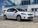 Toyota Auris HSD UK-spec 2010–12 photos