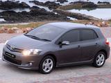 Toyota Auris Sport X ZA-spec 2010 pictures