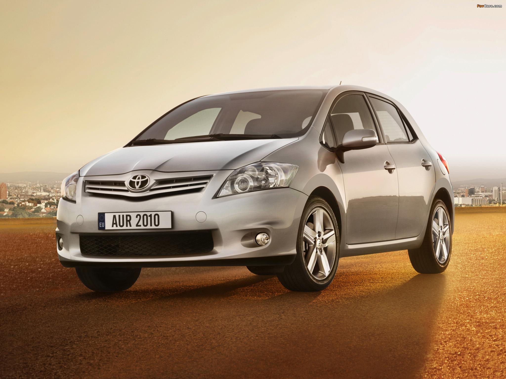 Технические характеристики Toyota Auris / Тойота Аурис ...