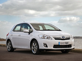 Toyota Auris HSD UK-spec 2010–12 pictures