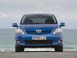 Toyota Auris 5-door UK-spec 2010–12 pictures
