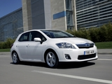 Toyota Auris HSD UK-spec 2010–12 wallpapers