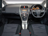 Toyota Auris Sport X ZA-spec 2010 wallpapers
