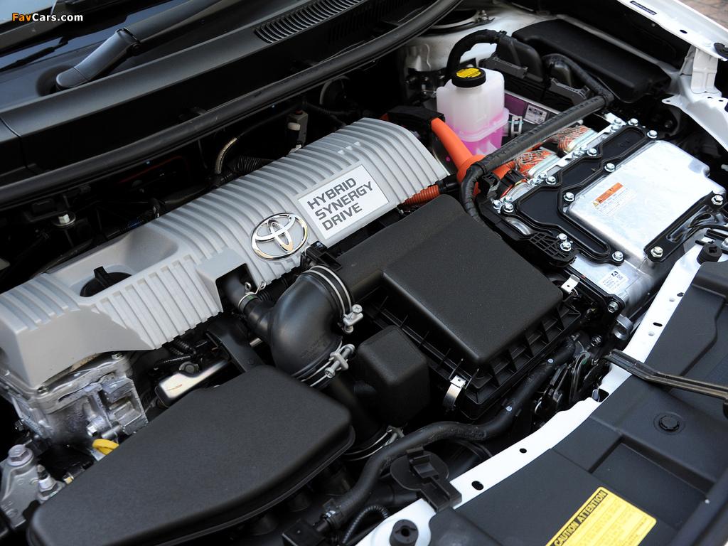 Toyota Auris HSD ZA-spec 2011 images (1024 x 768)