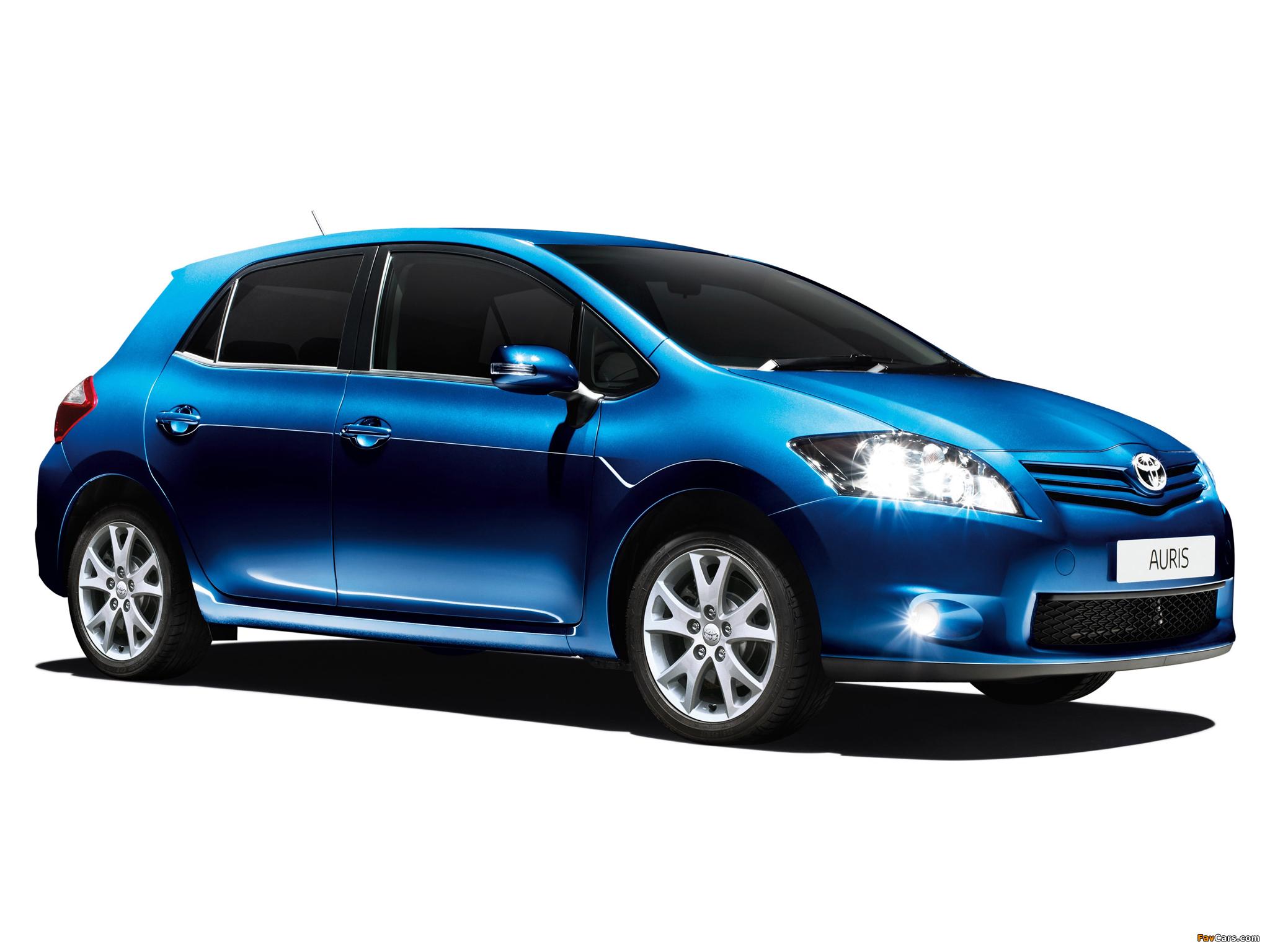 Toyota Auris Edition 5-door 2011–12 pictures (2048 x 1536)