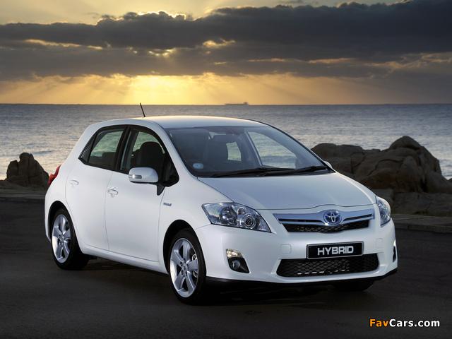 Toyota Auris HSD ZA-spec 2011 pictures (640 x 480)