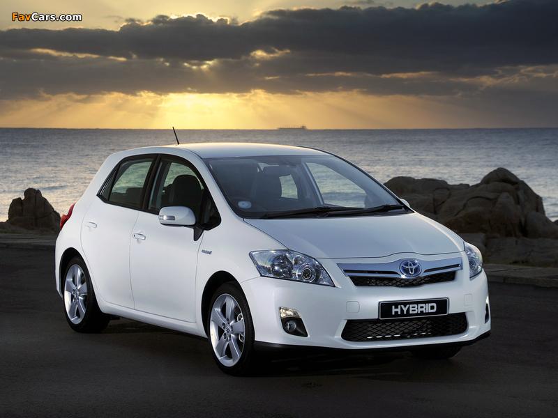 Toyota Auris HSD ZA-spec 2011 pictures (800 x 600)