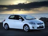 Toyota Auris HSD ZA-spec 2011 wallpapers
