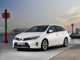 Toyota Auris Touring Sports Hybrid 2012 images