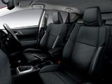 Toyota Auris 150 X JP-spec 2012 images