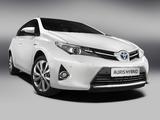 Toyota Auris Hybrid 2012 images