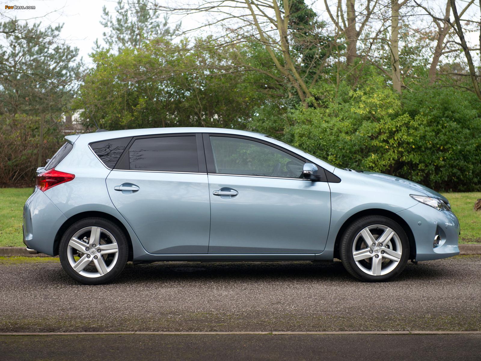 Toyota Auris UK-spec 2012 photos (1600 x 1200)