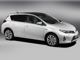 Toyota Auris Hybrid 2012 photos