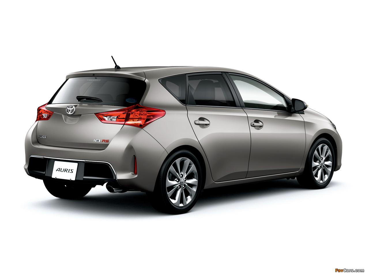 Toyota Auris RS S Package JP-spec 2012 photos (1280 x 960)