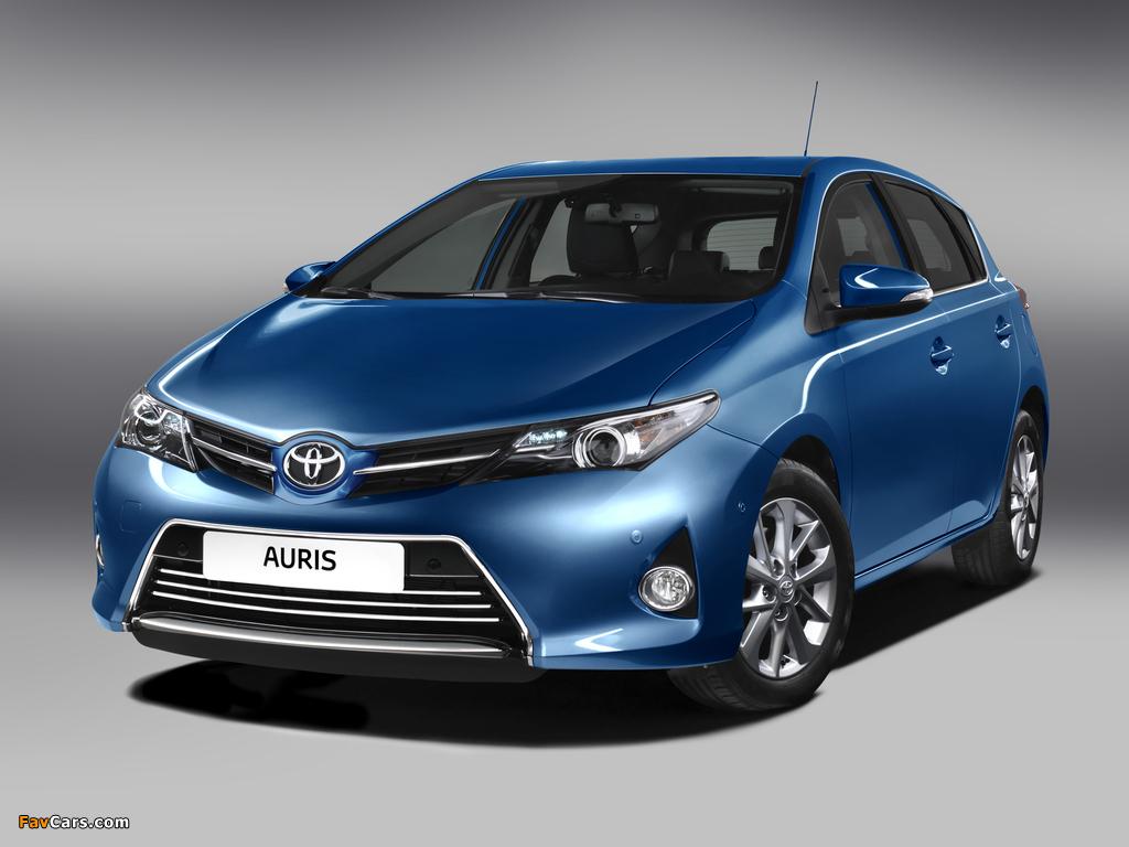 Toyota Auris 2012 photos (1024 x 768)