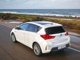 Toyota Auris Hybrid 2012 photos