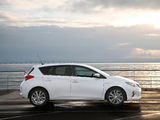 Toyota Auris Hybrid 2012 pictures