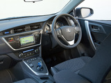 Toyota Auris Hybrid UK-spec 2012 pictures