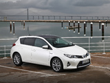 Toyota Auris Hybrid 2012 wallpapers