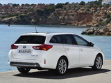 Toyota Auris Touring Sports Hybrid 2013 images