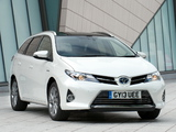Toyota Auris Touring Sports Hybrid UK-spec 2013 images