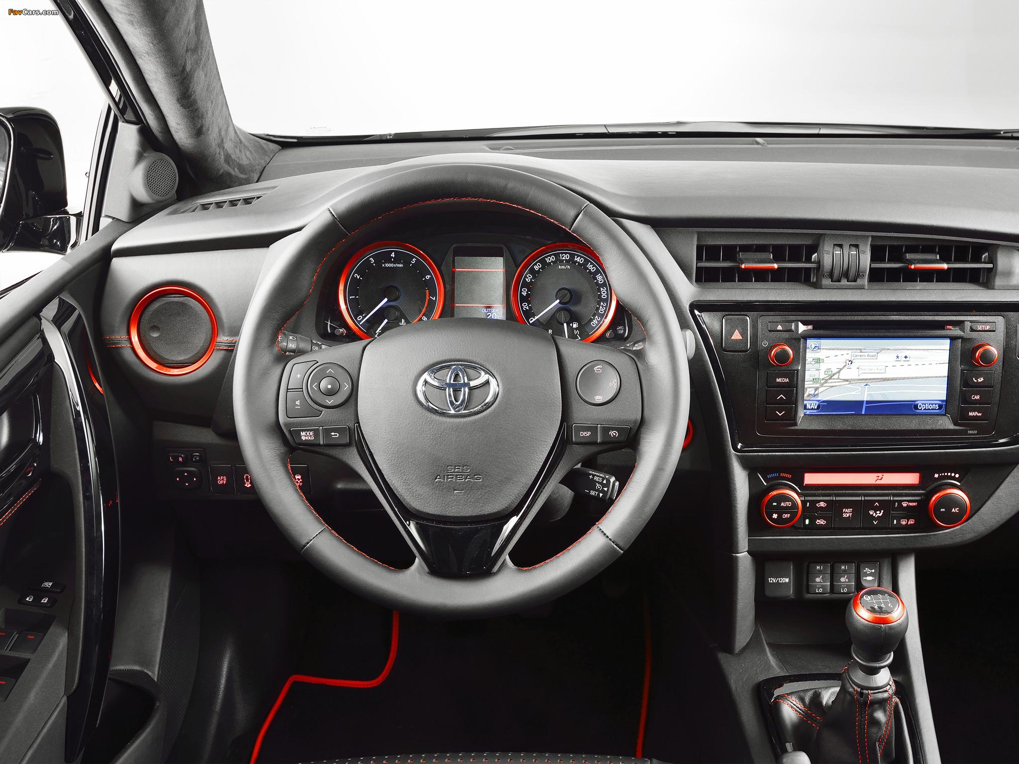 Toyota Auris Touring Sports Black Concept 2013 photos (2048 x 1536)