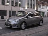 Toyota Auris ZA-spec 2013 photos