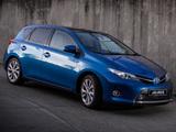 Toyota Auris Hybrid ZA-spec 2013 pictures