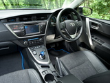 Toyota Auris Touring Sports Hybrid UK-spec 2013 wallpapers