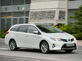 Toyota Auris Touring Sports Hybrid UK-spec 2013 wallpapers