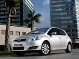 Toyota Auris 5-door 2007–10 wallpapers