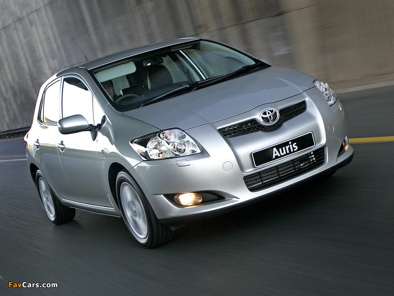 Toyota Auris 5-door ZA-spec 2007–10 wallpapers (800 x 600)