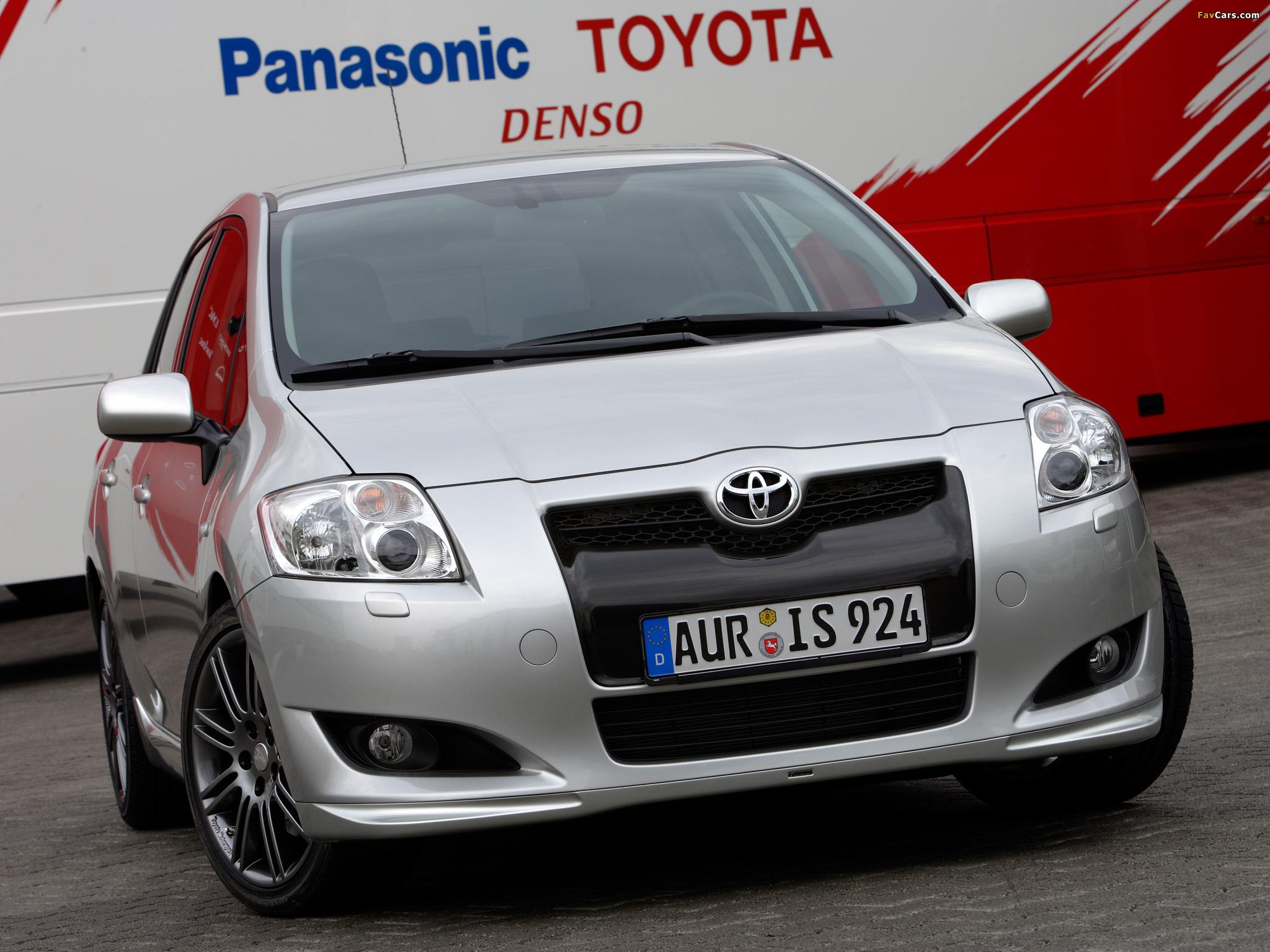 Toyota Auris технические характеристики : Тойота Центр ...