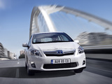 Toyota Auris HSD 2010–12 wallpapers