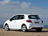 Toyota Auris HSD UK-spec 2010–12 wallpapers
