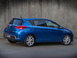 Toyota Auris Hybrid ZA-spec 2013 wallpapers