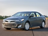 Photos of Toyota Avalon Hybrid 2012