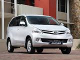 Toyota Avanza ZA-spec 2012 pictures