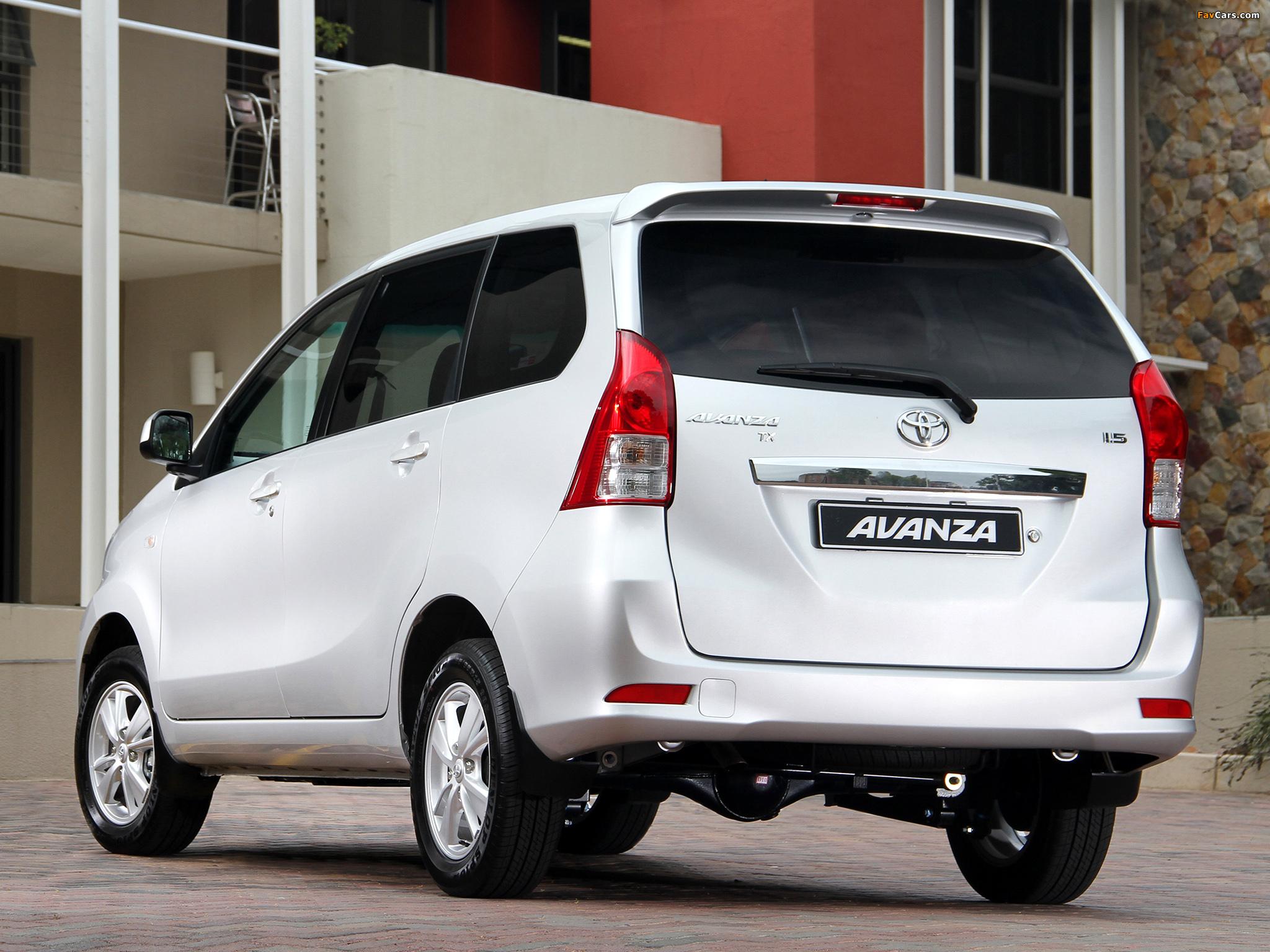 Avanza Toyota 2018 >> Toyota Avanza ZA-spec 2012 pictures (2048x1536)