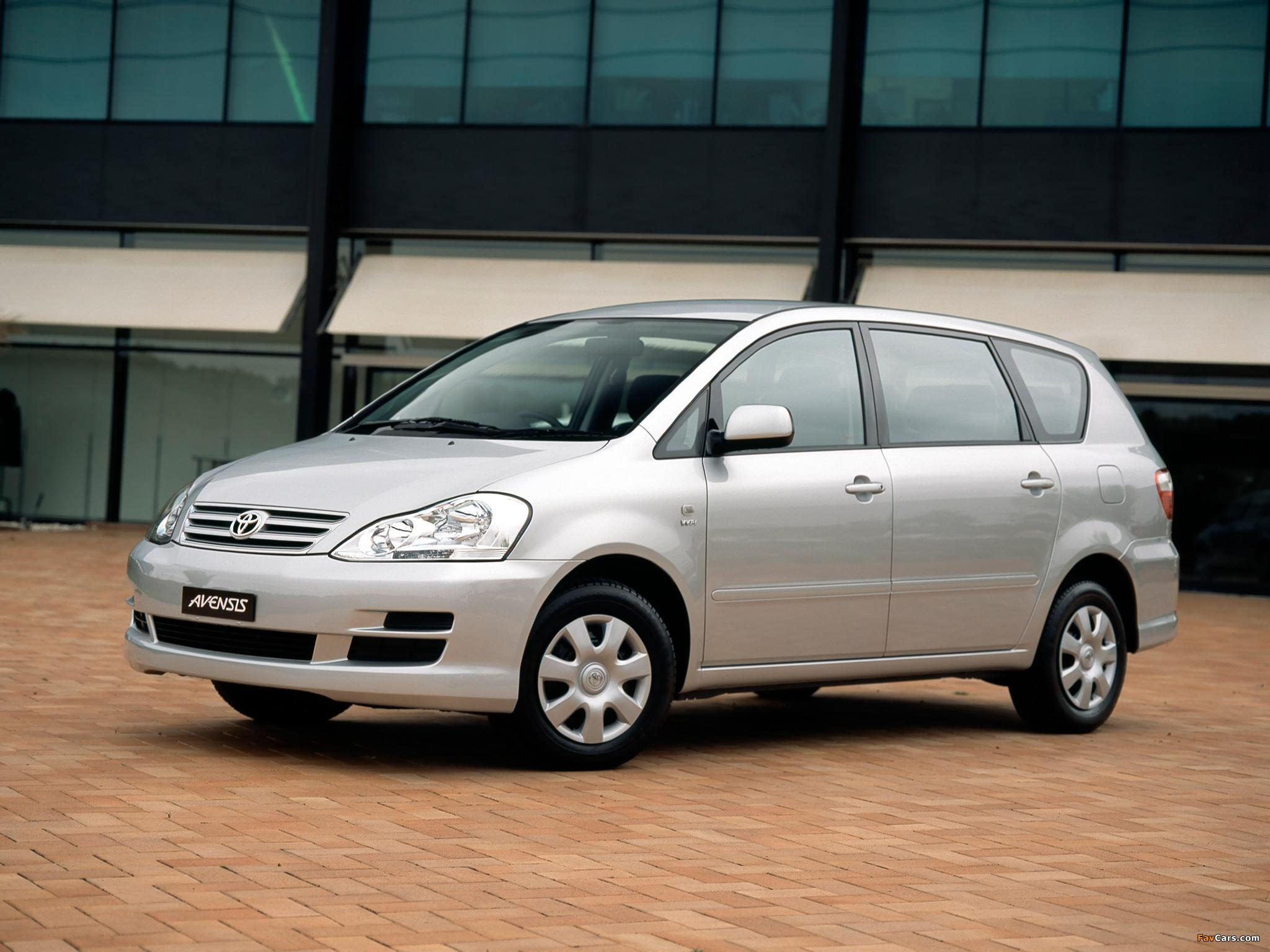 Toyota Avensis Verso gebraucht kaufen bei AutoScout24