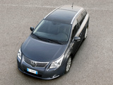 Images of Toyota Avensis Wagon 2008–11