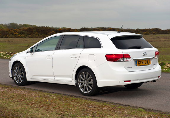 Images Of Toyota Avensis Wagon Uk Spec 2012